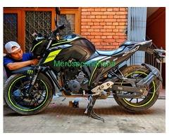 Used FZ bike on sale at kathmandu nepal