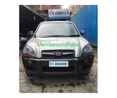 Excellent condition 4WD Hyundai Tucson on sale at kathmandu