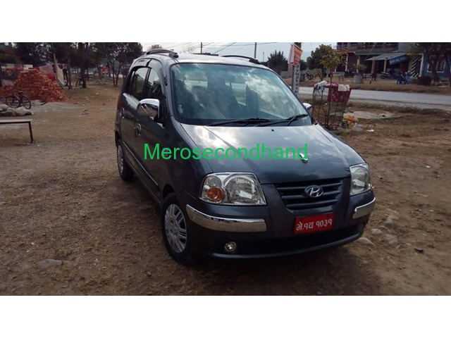 Secondhand santro 2019 car on sale at pokhara nepal - 1/3