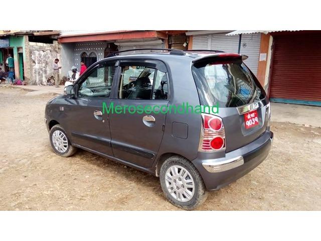 Secondhand santro 2019 car on sale at pokhara nepal - 2/3
