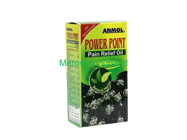 Anmol Power Point Pain Relief Oil 10 Ml - 1/1