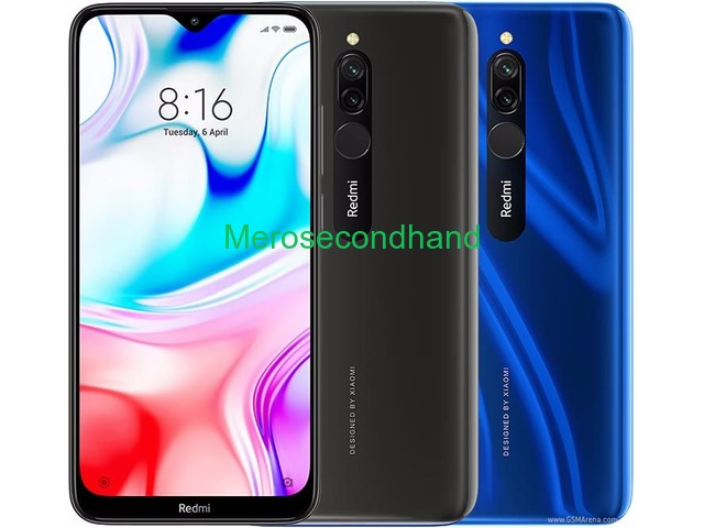Redmi 8 mobile on sale at morang nepal - 1/1