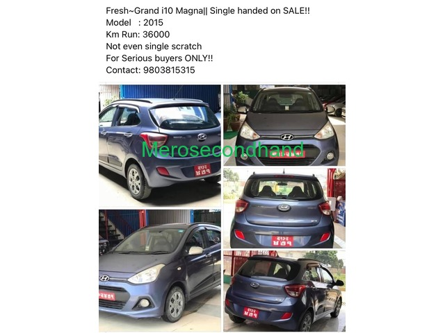grand i10 magna for urgent sale - 1/1