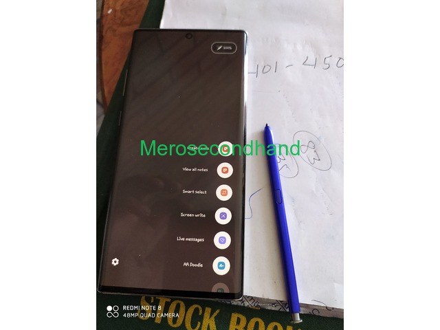 Samsung Galaxy note 10 plus for sale in pokhara nepal - 4/4