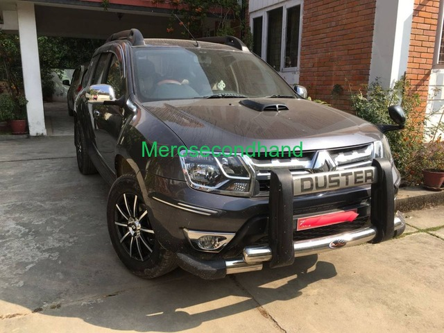 Renault Duster Rxl 2016 Petrol On Urgent Sale (car Jeep) - 1/8