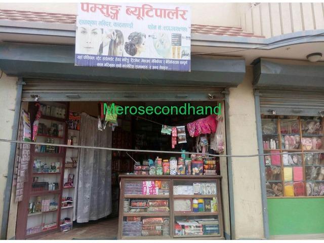 Beauty Parlor with Cosmetic Shop on sale Near Radhakrishna temple, Banasthali - 1/3