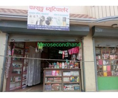 Beauty Parlor with Cosmetic Shop on sale Near Radhakrishna temple, Banasthali