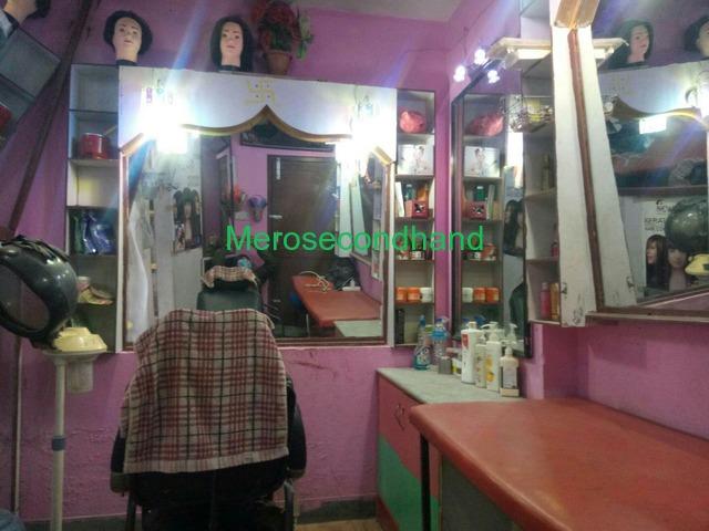Beauty Parlor with Cosmetic Shop on sale Near Radhakrishna temple, Banasthali - 2/3