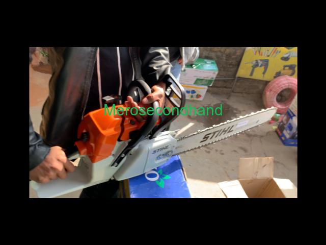 Chainsaw machine at kathmandu nepal - 2/2