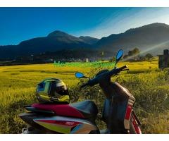 Aprilia sr race edition scooty on sale at kathmandu nepal