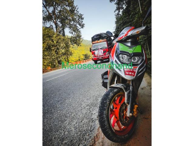 Aprilia sr race edition scooty on sale at kathmandu nepal - 4/4