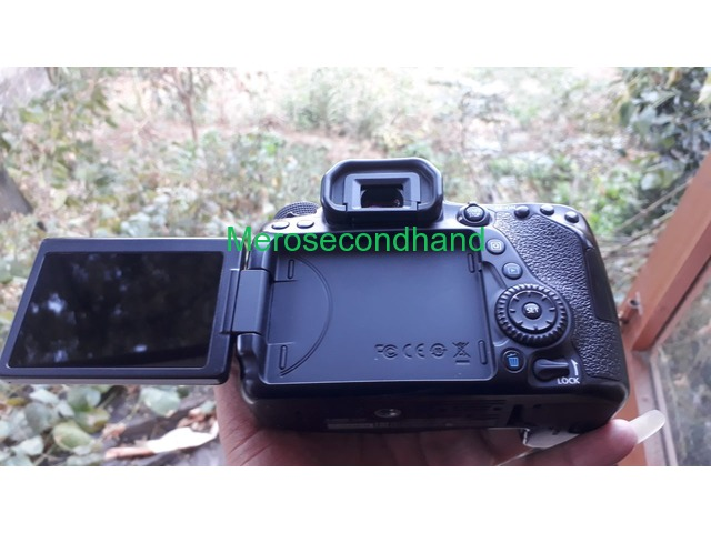 Canon 80d body only for sale at kathmandu nepal - 1/1