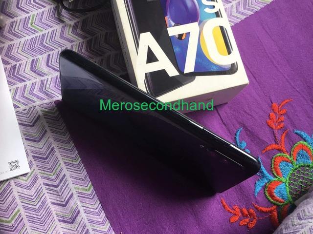 Samsung A70s mobile on sale at kathmandu nepal - 2/5