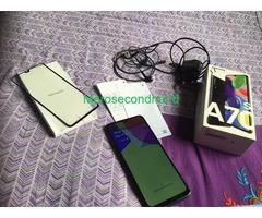 Samsung A70s mobile on sale at kathmandu nepal - Image 3/5
