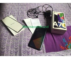 Samsung A70s mobile on sale at kathmandu nepal - Image 4/5