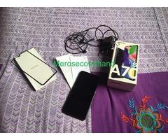 Samsung A70s mobile on sale at kathmandu nepal - Image 5/5