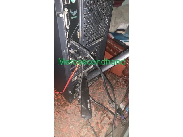 Gaming desktop + free acer monitor on sale at kathmandu nepal - 4/6