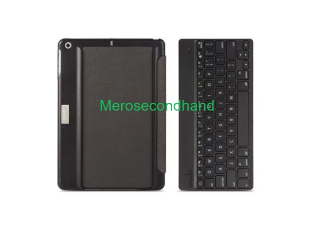 Wireless Keyboard and Foldable Case for Ipad air - 2/2