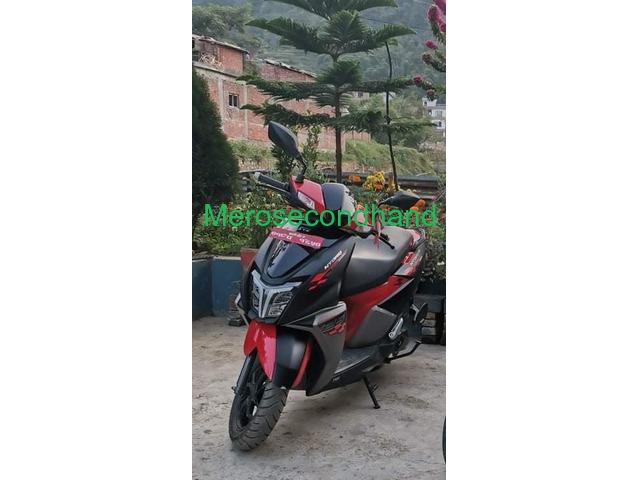 TVS NTORQ (018 Lot)125 Race Edition-scooter (Emergency) - 1/2