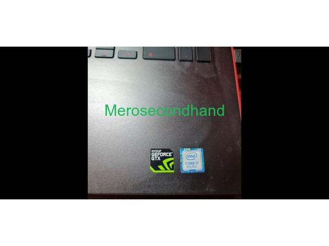 DELL Gaming Laptop   Core i7 + 4GB Nvidia GTX 1050Ti + 24GB RAM + 500 GB SSD - 4/5