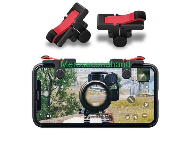 Pubg Mobile Phone Shooter Controller Gaming Trigger - 1/2