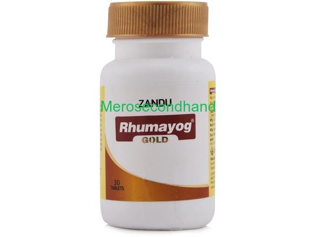 Zandu Rhumayog Gold 30 Tablet, Treatment: Relief Arthritis Pain - 1/1