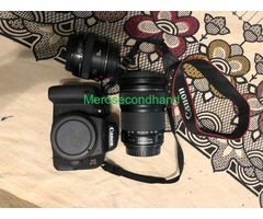 Like new Canon T7i Camera for sale